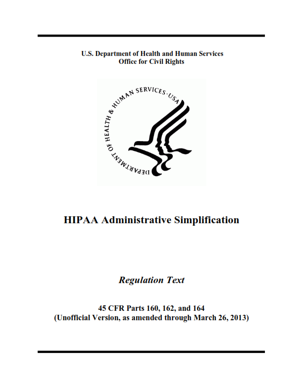Updated basic hipaa hitech awareness training for health care staff